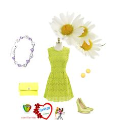 """""""Yellow style"""" by weodresses on Polyvore"""