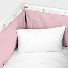 Paracolpi Percalle Kids Basic Colore Rosa Chiaro - Federa per Paracolpi - Accessori Tessili | Zara Home Italia