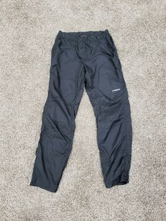 e9290419edd Men s Patagonia Houdini Windbreaker Lightweight Pants Size Small SM Black   fashion  clothing  shoes