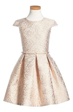 Alivia Simone 'Imperial Ballerina' Jacquard Dress (Little Girls & Big Girls) available at #Nordstrom