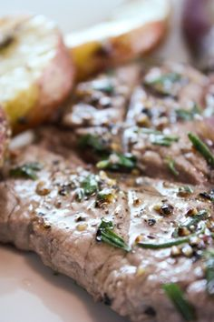 Lavender & Rosemary Steak. hmmm interesting... wanna tryy ittt