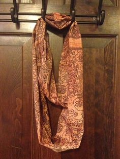 Harry Potter Inspired Map Infinity Scarf by TraceyGurney on Etsy