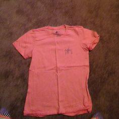 Guy Harvey girls Tshirts Coral color girls style Tshirt Tops Tees - Short Sleeve