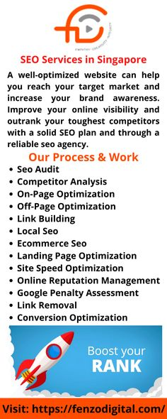 Web Design Services, Seo Services, Seo Agency, Best Seo, Competitor Analysis, Singapore, Digital Marketing, Improve Yourself, Infographic