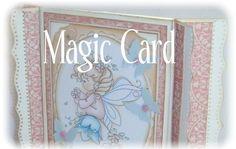 """Først må jeg fortelle en liten historie om navnet til dette kortet jeg skal vise dere I dag."""" Tryllekortet"""" har ikke egentlig noe magisk v..."""