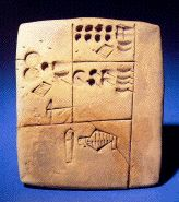 Writing History: Around 4100-3800 BCE, the tokens began to be symbols that could be impressed or inscribed in clay.
