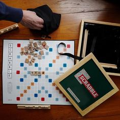 Scrabble Sundays done in TFC style with this 1948 remake  #thefifthcollection #TFC #sunday #scrabble #weekend #nostalgia #fun #vintage #fashion #startup #shopping