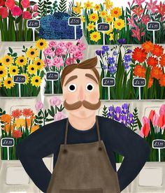 Kirsti Davidson Illustration | The Florist
