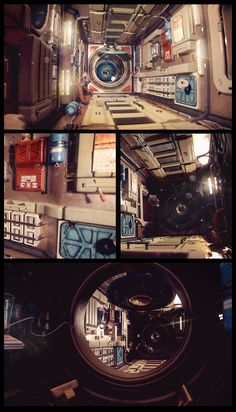 Zero Gravity by Kimmo Kaunela | Sci-Fi | 3D | CGSociety