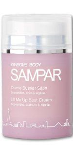SAMPAR Lift Me Up Bust Cream by SAMPAR. $28.95. Reinforces the skinâs natural breast support and helps prevent stretch marks.. Envelope the bust in an invisible toning fluid that enhances the breasts with an exclusive combination of natural firming agents including wheat proteins, kigelia and horse chestnut extracts. The Lift Me Up Bust Cream utilizes a combination of natural active ingredients that are carefully selected to restore density to the skin and rei...