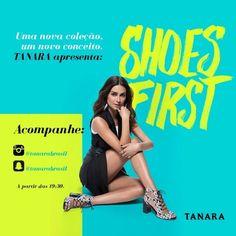 Quer saber mais sobre os lançamentos e a nova campanha da Tanara? Fique ligada hoje no nosso Snap e aqui no nosso Instagram a partir das 19:30!
