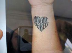 Nombre hijos tattoo
