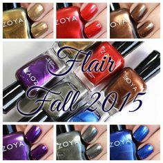 Zoya Fall 2015 - Flair collection