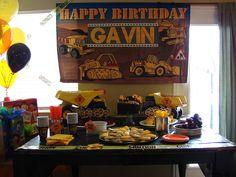 "Photo 5 of 36: Construction party / Birthday ""Gavin's 6th Birthday"" | Catch My Party"