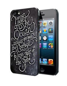 Inspirational Quote You can never cross the ocean Samsung Galaxy S3/ S4 case, iPhone 4/4S / 5/ 5s/ 5c case, iPod Touch 4 / 5 case