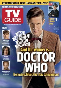 TV Guide - A Sign of the Times - December 10, 2012 - Doctor Who