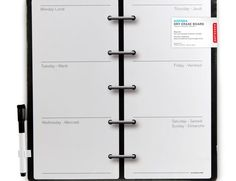 Kikkerland Design Inc » Products » Decorative Magnetic Dry Erase Wall Calendar