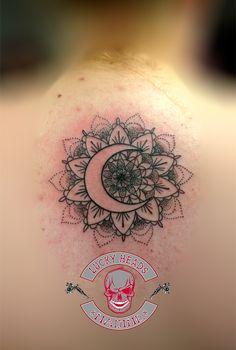 #mandala #mandalatattoo #tattoo #ink #love  #ink #love #tattooitzehoe #itzehoe #luckyheadstattoo #nofilter #alphasuperfluid Head Tattoos, Mandala Tattoo, Tattoo Ink, Compass Tattoo, Watercolor Tattoo, Temp Tattoo, Tattoo