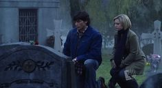 SV412: Pariah - Chloe meets Clark at Alicia's grave to tell him that she is there for him if he ever needs to talk.