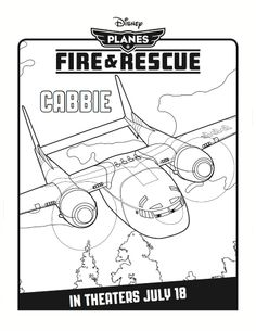 Rescue Riders - Free Coloring Pages