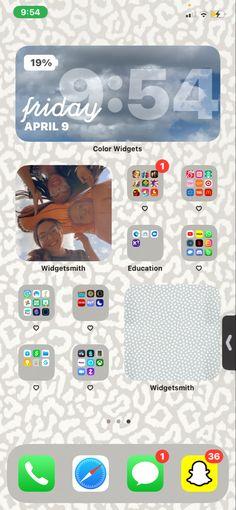 Homescreen, Ios, Organization, Education, Iphone, Color, Getting Organized, Organisation, Colour