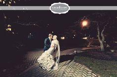 winter wedding, nighttime wedding, photography