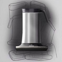 Side view of my kettle design #industrialdesign #id #idsketching #productdesign #design #designsketching #designer #drawing #sketch #sketches #kettle