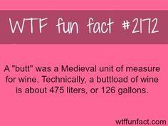 It's an actual measurement!