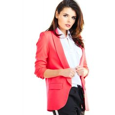 Casual Blazer, Cold Day, Red S, Moleskine, Brooks Brothers, Karl Lagerfeld, Blazer Jacket, Things That Bounce, Jackets For Women