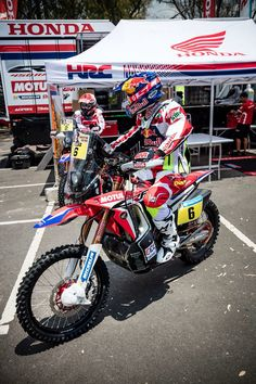 Honda Motorbikes, Rallye Raid, Desert Sled, Moto Bike, Bike Parts, Car Car, Motocross, Cars And Motorcycles, Offroad
