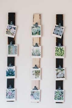 5 Ideas for Your Digital Photos | Create Wall Art and these fun photo displays!