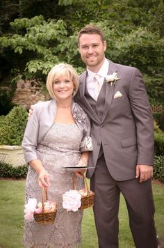 Hutson Mason and his beautiful mother Kelly. Photographed by: Rebekah Chambers