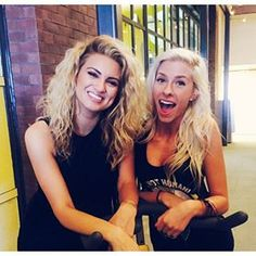 Andie Case with the talented singer Tori Kelly