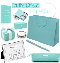 For the Office:Tiffany, love this color! Classic, yet fressh
