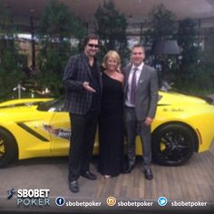 @phil_hellmuth charity tournament donated a sport car! #Sbobetpoker #Lifestyle