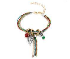 Beaded Charm Bracelet : http://www.lyliarose.com/ourshop/prod_3009983-Beaded-Charm-Bracelet.html : £7 : Free UK delivery
