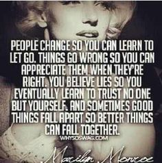 This is for all the people that say Monroe was just some dumb bimbo.  She was actually very smart in her right, and she was, and remains to be, one of my idols.