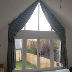 curtains for large apex windows ile ilgili görsel sonucu