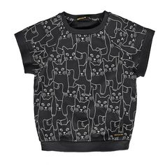 Finger In The Nose Black Cat Sweatshirt
