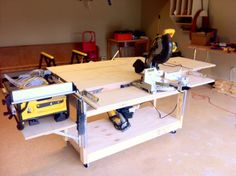 Ana White | Do-It-All Mobile Workbench - DIY Projects