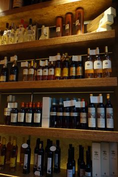 Grappa and Sweet Wines