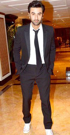 Ranbir Kapoor at the second trailer launch of their film 'Bombay Velvet'…