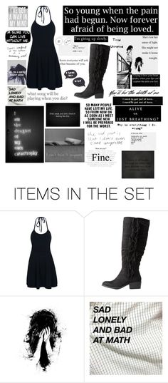 """She might not make it home tonight"" by frizzynorse ❤ liked on Polyvore featuring art"