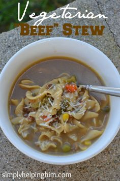 """Vegetarian """"Beef"""" Stew with Foodie Link Up - Simply Helping Him: Marriage Experience from a Help Meet"""