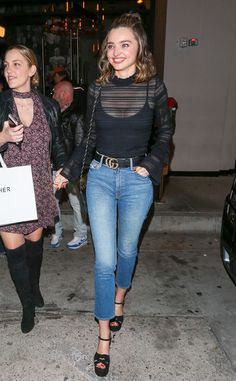 Miranda Kerr from The Big Picture: Today's Hot Photos All smiles! The model is spotted out in Los Angeles.