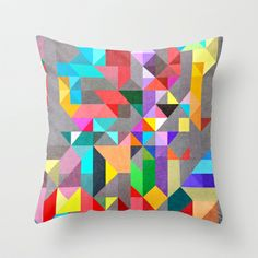 Spectre60 Throw Pillow by Three Of The Possessed - $20.00