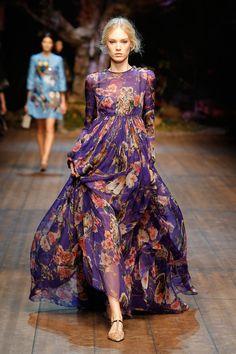 69d59ec3eca Dolce & Gabbana Woman Catwalk Photo Gallery – Fashion Show Fall Winter  2014 2015 Dolce
