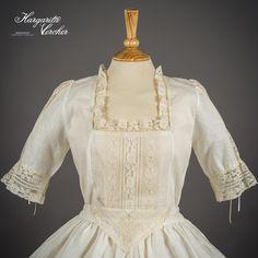 Margarita Vercher Historical Women, Lace Making, Blouse Patterns, Larp, Margarita, Beautiful Outfits, Vintage Dresses, Cosplay, My Style