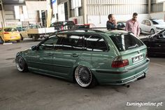 BMW E46 tuning air ride stance