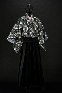 「和次元 滴や」夜会コーディネート:スペクター  Men's Kimono